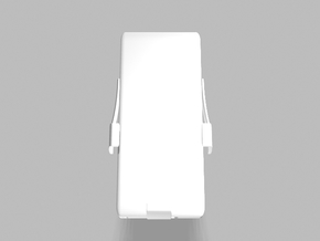 Universal Slim Smartphone Tablet 3200mah Charger in White Strong & Flexible Polished