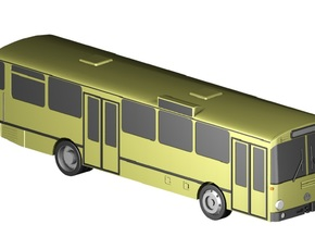 Stadtbus / City bus (1:220) in Frosted Ultra Detail