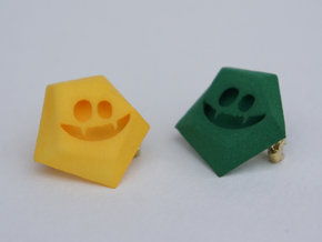 $5 Giving Pins : Vampire Bites in Green Processed Versatile Plastic