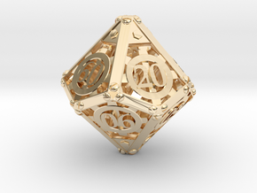 Steampunk Percentile in 14K Yellow Gold