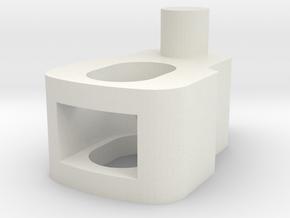 Blinker Buchse in White Natural Versatile Plastic