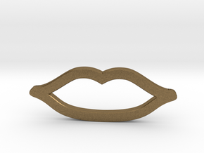 Mini Lips in Natural Bronze