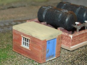 Pump Shed 2mm/ft (N scale) in Frosted Ultra Detail