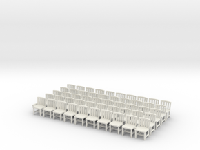 Chairs X50 in White Natural Versatile Plastic