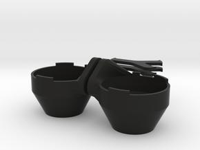 Light Pods in Black Natural Versatile Plastic