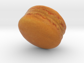The Mango Macaron in Full Color Sandstone