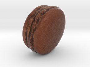 The Chocolate Macaron in Full Color Sandstone