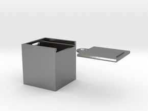 """Box for small """"SOMA cube"""" (please see the product) in Natural Silver"""