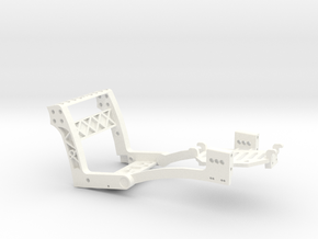 MicroCoaster V1.7.3 in White Processed Versatile Plastic