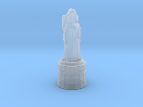 Monk Pawn in Smooth Fine Detail Plastic