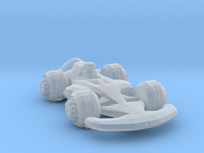 Formula1 Car Own Design in Smooth Fine Detail Plastic