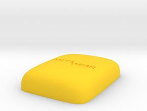 MetaWear Conic Upper 914 in Yellow Processed Versatile Plastic