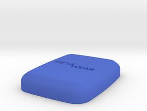 MetaWear Cube Upper 914 in Blue Processed Versatile Plastic