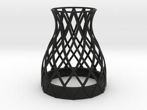 Bell Vase for jar size:66 (4 leads) in Black Natural Versatile Plastic