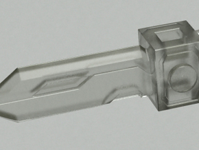 Pop gun Part-B in Smooth Fine Detail Plastic