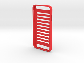 Plain iPhone 6 Case in Red Strong & Flexible Polished