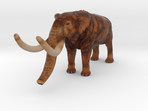Mastodon Color in Full Color Sandstone