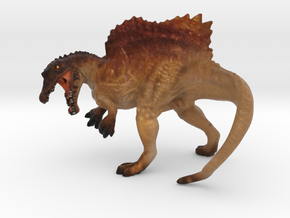 Spinosaurus Color in Full Color Sandstone