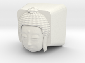 Cherry MX Buddha Keycap in White Natural Versatile Plastic