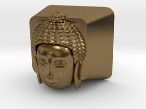Cherry MX Buddha Keycap in Natural Bronze