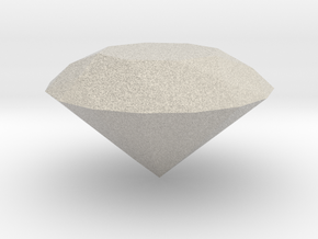 PERFECT DIAMOND in Natural Sandstone