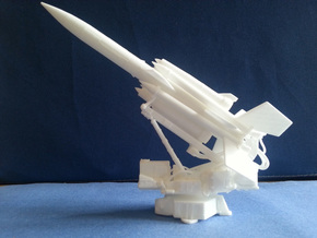 SAM - Bristol Bloodhound (The Pad) 1-72 Scale in White Strong & Flexible Polished