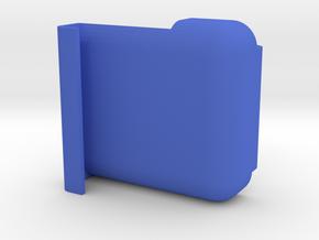 IMPRENTA3D SOPORTE DEFY V1 in Blue Processed Versatile Plastic