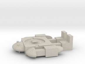 Maker Bot in Natural Sandstone
