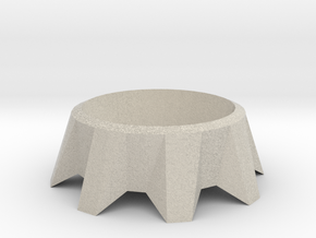 Tea Light Holder in Natural Sandstone