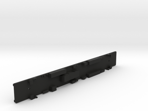 N Scale Budd Silverliner FRAME Nonpowered in Black Natural Versatile Plastic