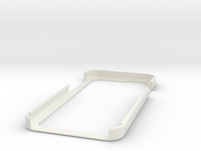 I6Bupershell in White Natural Versatile Plastic