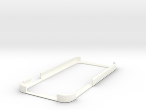 Iphone 6 Bumper in White Processed Versatile Plastic