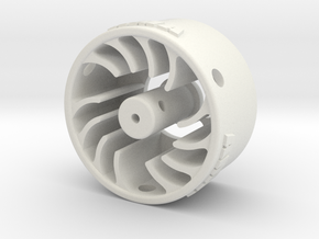 Mini-Z Motor Break-In Fan High Load in White Natural Versatile Plastic