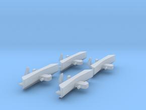 Schienenräumer für JC 2043 4 Stk. in Smooth Fine Detail Plastic