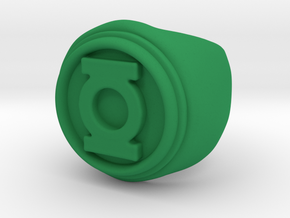 Green Lantern Ring - Size 10.5 in Green Processed Versatile Plastic