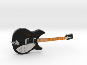 Rickenbacker Guitar 1:18 in Full Color Sandstone