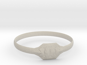 Triss Ring US Size 6 UK Size R in Natural Sandstone