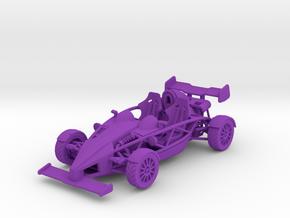 Ariel Atom 1/43 scale LHD w/wings in Purple Strong & Flexible Polished