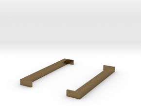 Square Brackets - [ ] in Natural Bronze