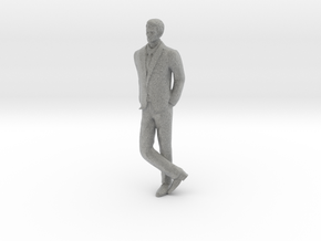 Man Leaning 16th in Metallic Plastic