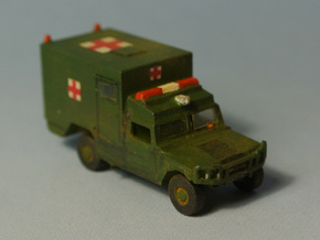 URO VAMTAC Ambulancia escala N in Frosted Ultra Detail