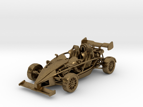 Ariel Atom 1/43 scale LHD w/wings in Natural Bronze