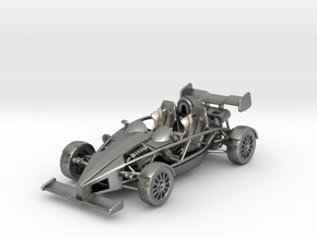 Ariel Atom 1/43 scale LHD w/wings in Natural Silver