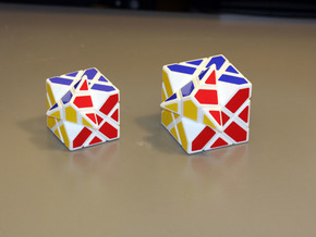 Compy Cube 50mm version in White Strong & Flexible