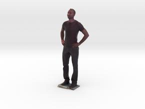 Man With Hands On Hips 2 - Denver Startup Week 201 in Full Color Sandstone