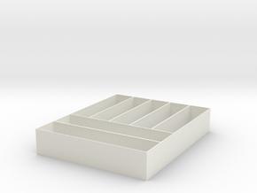 drawer insert in White Natural Versatile Plastic