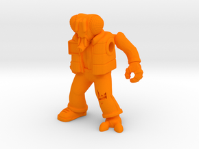 Muty McFly Parody Figure in Orange Strong & Flexible Polished