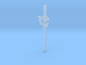 Kirito's Elucidator Sword in Smooth Fine Detail Plastic