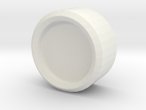 Iron Man mk III - HelmetFastener in White Natural Versatile Plastic