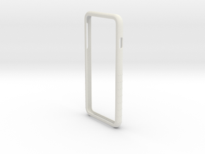 Iphone 6plus Shell in White Natural Versatile Plastic